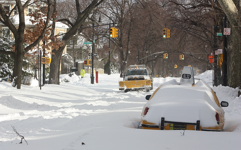 Snowplows are everywhere, but none of them are actually plowing